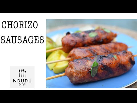 TASTIEST CHORIZO SAUSAGES & GREEN TOMATOES