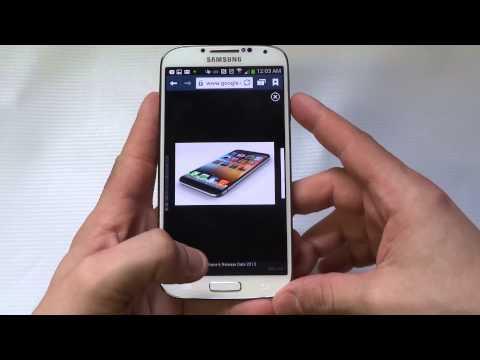 Samsung Galaxy S4 How To Take a Screen Shot - Fliptroniks.com