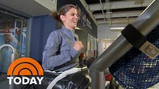 Watch Natalie Morales Train (And Eat!) Like An Olympian   TODAY