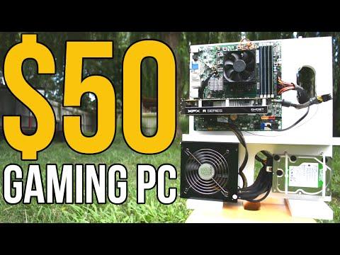 Meet ZEUS, the ULTIMATE $50 GAMING PC! (2016)