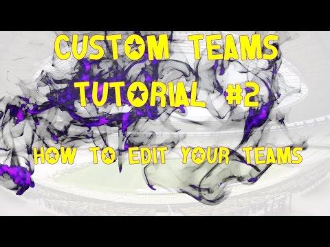 Fifa 15 - Tutorial - Custom Teams for Career Mode #2