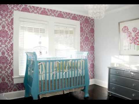 Nursery room wallpaper design ideas