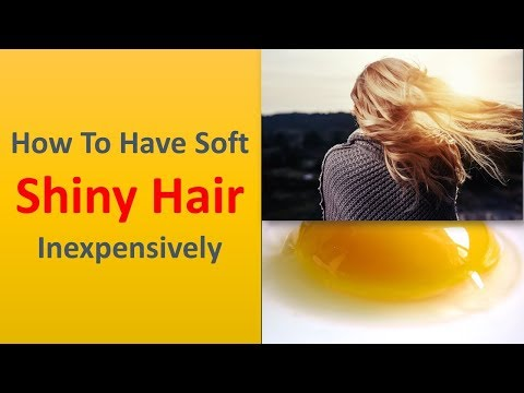 How to Have SofeetShiny Hair Inexpensively|Apply coconut oil for your dry hair