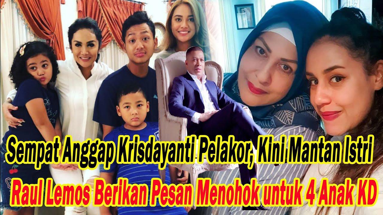 Download Sempat Anggap Krisdayanti Pelakor Kini Mantan Istri Raul Lemos Berikan Pesan Menohok untuk 4 Anak KD MP3 Gratis