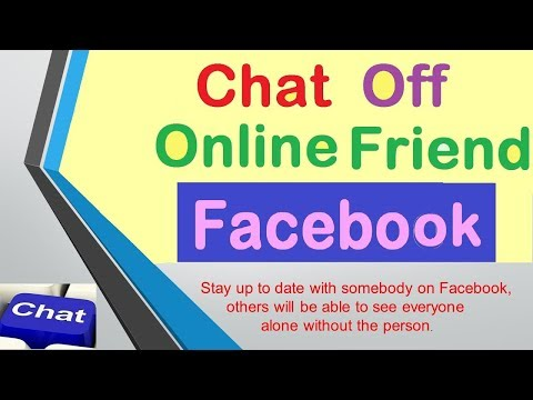 Appear Invisible Offline on Facebook Chat