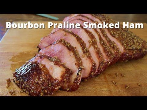 Bourbon Praline Smoked Ham | Double Smoked Ham with aBourbon Praline Glaze Malcom Reed