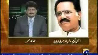 Capital Talk 10 March 2008 Geo News Pakistan