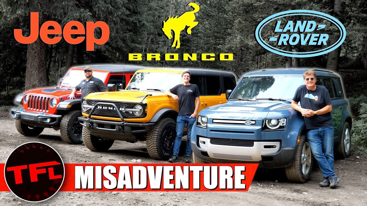 Bronco vs Wrangler vs Defender: We Drive Them Off-Road Up A Mountain, But Only Two Make It Back!