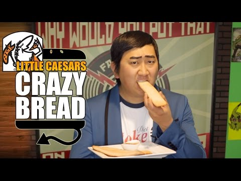 HOW TO MAKE Little Caesar's Crazy Bread Recipe ROB DYKE Style