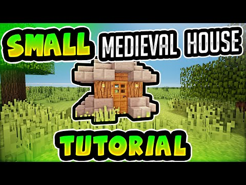 ✔ Minecraft: *Very* Small Medieval House [HD]