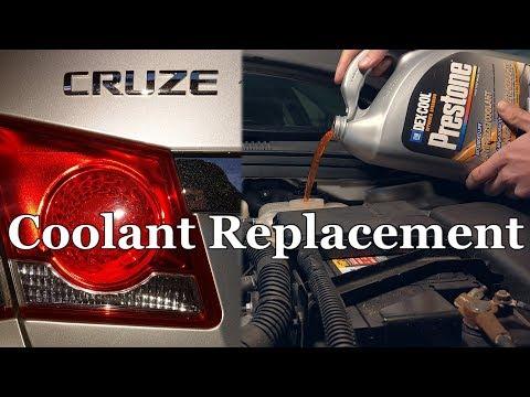 How to Replace the Coolant on a Chevrolet Cruze