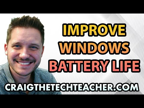 How To Increase Windows 7 Battery Life With A Power Report