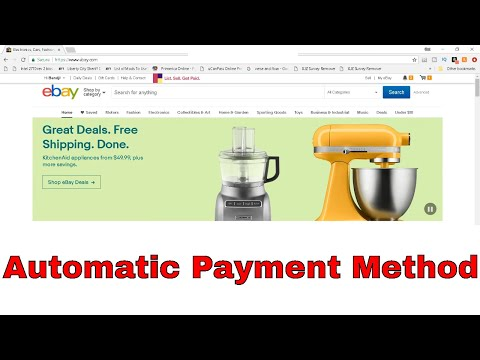 How to Add Automatic Payment Method on eBay | eBay Sell | Get Fixed