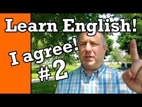 Part 2: Learn How to Agree in English | Video with Subtitles