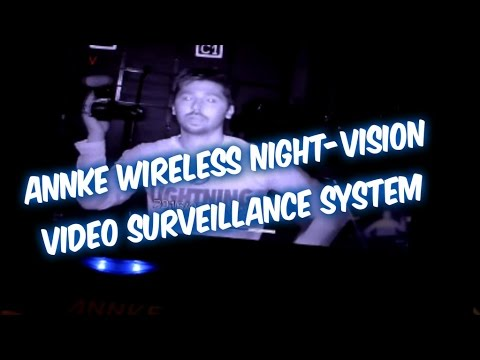 HOW TO INSTALL WIRELESS VIDEO SURVEILLANCE DVR SECURITY ANNKE SYSTEM UNDER 200 DOLLARS