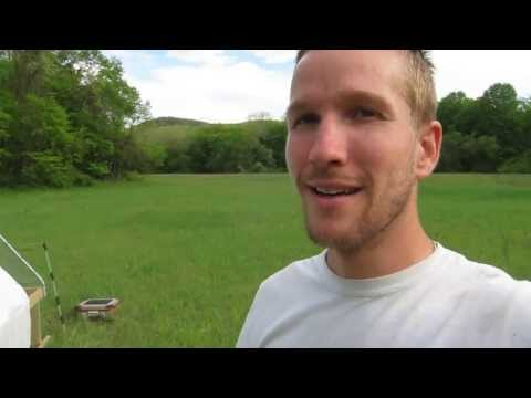 Farm video update of chickens on pasture 5/14/2013