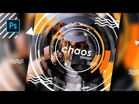 How to Create a Chaos photo Editing for Cover Magazine Design - Photoshop Tutorials