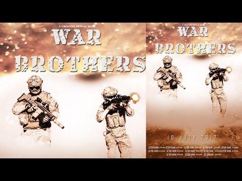 Adobe Photoshop - Movie Poster Design : War Brothers