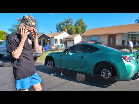someone STOLE my $5,000 wheels... (WTF)