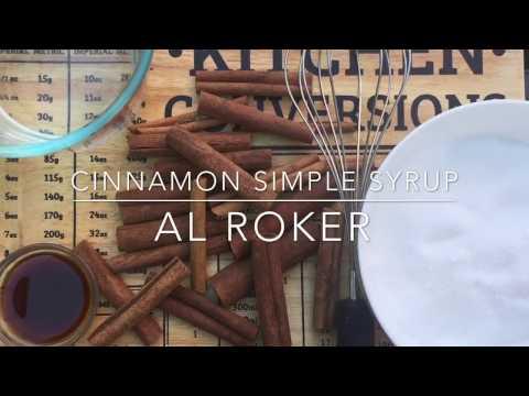 Cold Brewed Coffee Simple Syrup ☕️ - Al Roker's Recipe!