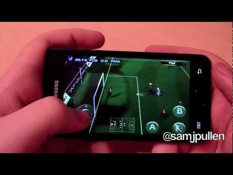Samsung Galaxy S2 Gaming - Real Football 2011