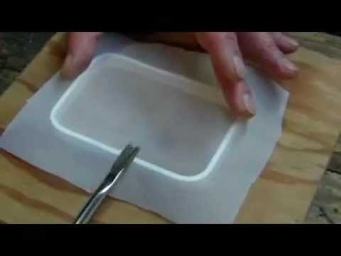 Make your own no-waste soap dish