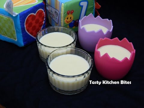 Healthy Baby Food Recipe - Egg Custard for Toddler & Kids l Easy Stirred Egg Pudding l 12+ months