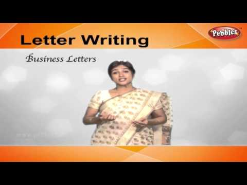 How to write Business Letters | Letter Writing in English | Writing Letters For Kids