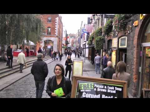 Walk around Dublin, Ireland