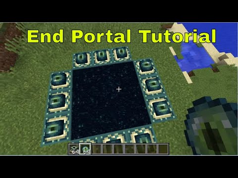 How to Make a End Portal in Minecraft (WORKING IN 2018)