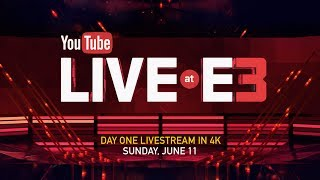 youtube live at e3 day one new xbox one x reveal bethesda