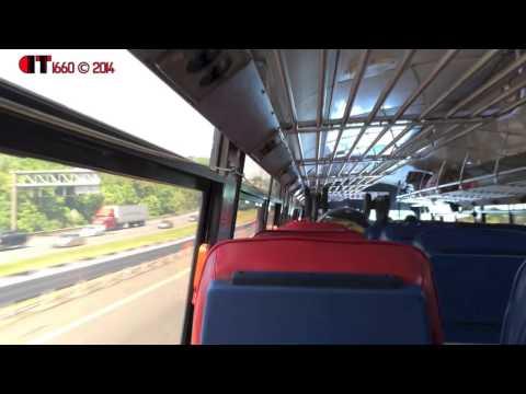 A ride on ex-MTA Bus 1988 MCI Classic #7400
