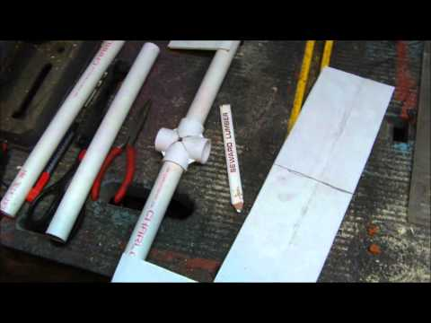 Whirly Gig Blades Or Mini Windmill Blades For Under $6 00 PVC pipe
