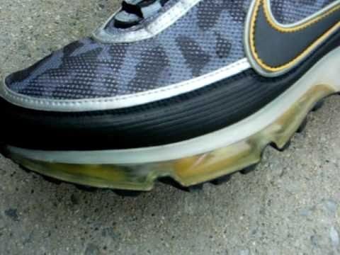 Nike Air Max 360 II Midnight Army & Morning Gold 2007 SOLD!