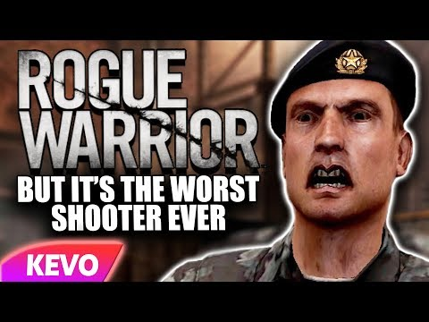 Rogue Warrior but it's the worst shooter ever