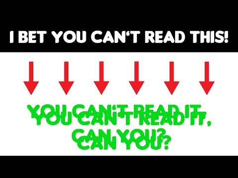 Only Geniuses can pass this double vision reading challenge | TEST |
