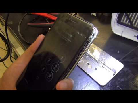 iPhone 6 plus no touch IC replacement soldering mail in repair part 2