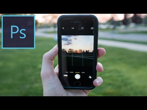 How to create a 2.5d Parallax Photo Effect in Photoshop CC Tutorial