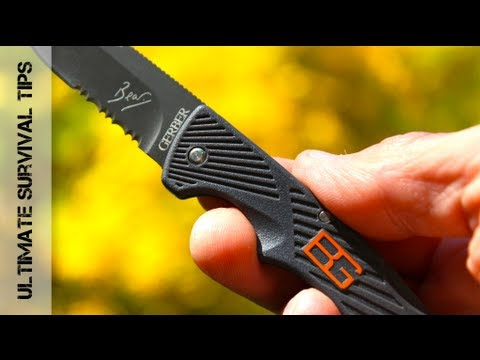 SUPER Small - Gerber Bear Grylls Compact Scout Knife Review - Best Pocket Knife? (31-000760)