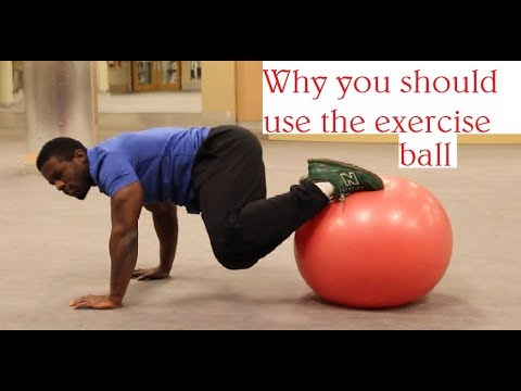 How to know What Size Exercise ball to use and Why