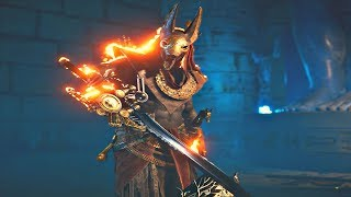 Assassin's Creed Origins - FFXV A Gift From The Gods Quest & BAHAMUT Cutscenes + FFXV Weapons