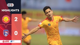 Highlights | Thanh Hóa - Than Quảng Ninh | Xứ Thanh tiếp tục bay cao | VPF Media