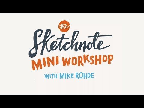 Sketchnote Mini Workshop - Interaction South America 2017