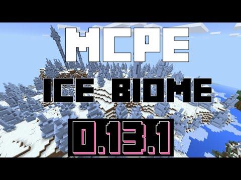 Minecraft Pocket Edition - Best Ice/Snow Seed! (0.13.1)