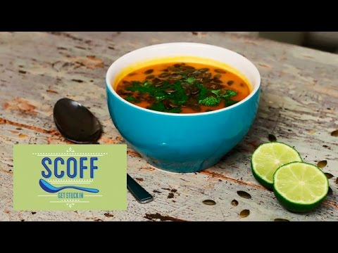 Thai Spiced Sweet Potato Soup | Eat Clean 2