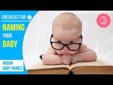 How to choose baby names | Checklist for baby girl names & baby boy names