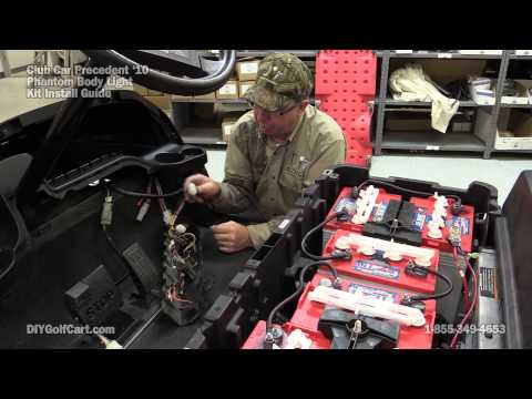 Club Car Phantom Light Kit | How to Install on Golf Cart (Part 3)