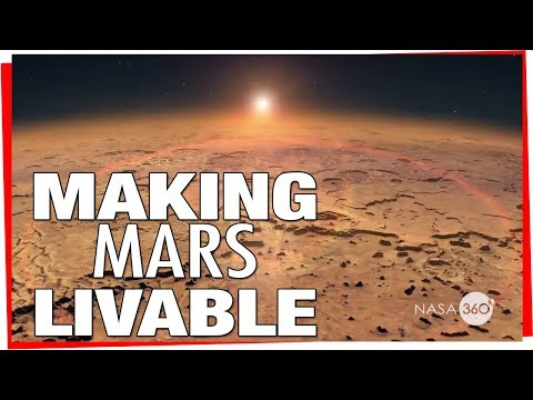 NASA: Making Mars Livable - Magnetic Shielding For The Red Planet