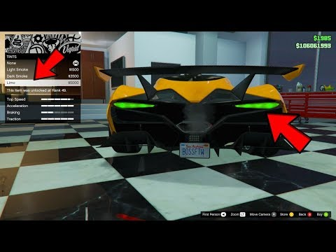 GTA Online Did You Know? - The Overflod Tyrant's SECRET Lighting Feature!