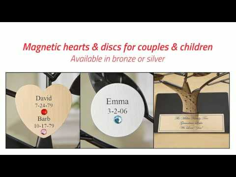 Personalized Engraved Family Tree Gift